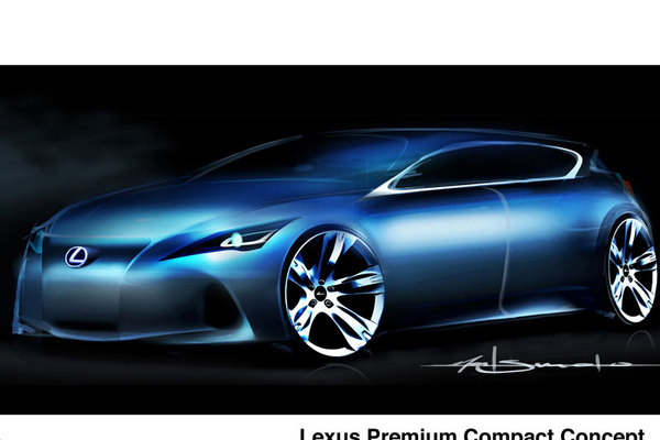 "Future Lexus ""Premium Compact"": on tease"