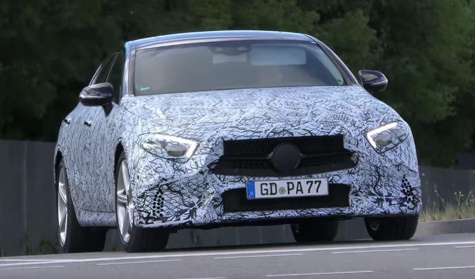 Scoop : la remplaçante de la Mercedes CLS prend la route