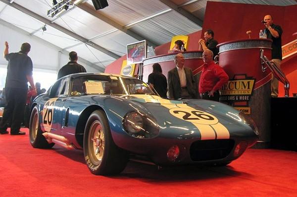 Plus de 7 millions de dollars pour une Shelby Daytona