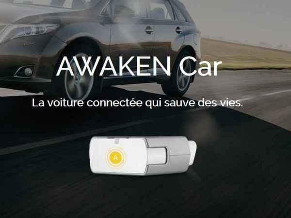 Awaken car connecte votre voiture et c'est français!