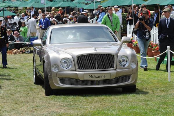 Nouvelle Bentley Mulsanne : encore des photos