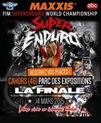 Finale championnat du Monde de Superenduro: à Cahors le 14 mars 2015 (vidéo)