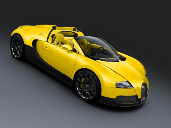 Dubai Motor Show 2011 : trois Bugatti Veyron Grand Sport très spéciales