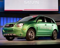 General Motors : son concept-car Saturn Vue Green Line Plug-In Hybrid fait sensation verte