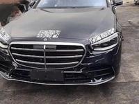 Mercedes: la nouvelle Classe S surprise sans camouflage