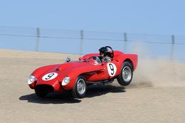 Laguna Seca : une Ferrari 250 TR à 5,7M€ se crashe dans les pneus [ajout d'une vidéo]