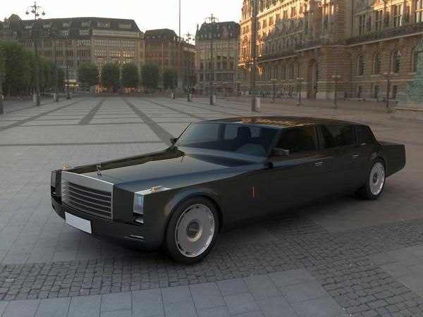 ZiL Concept, la future voiture de Medvedev