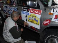 Rallye des Gazelles 2008: Présentation et suivi au jour le jour
