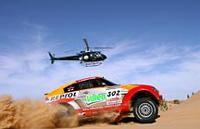 Le parcours du Dakar 2007