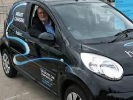 Une entreprise britannique développe une borne de recharge électrique sans fil