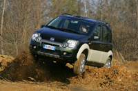 La Fiat Panda Cross au Dakar 2007!