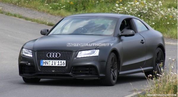 Spyshot : l'Audi RS5 est de retour