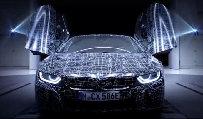 Première annonce pour la BMWi8Roadster