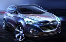 Hyundai tease son nouveau ix35