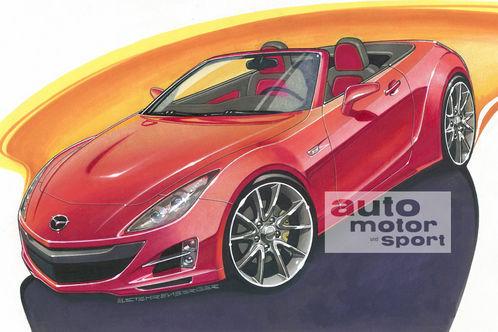 Future Mazda MX-5 : encore plus légère