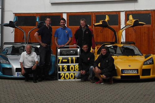 7'11''57''' - Nouveau record du Nürburgring pour la Gumpert Apollo Sport !