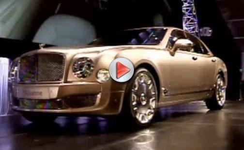 [Vidéo] Le premier exemplaire de la Bentley Mulsanne vendu 500 000 dollars aux enchères