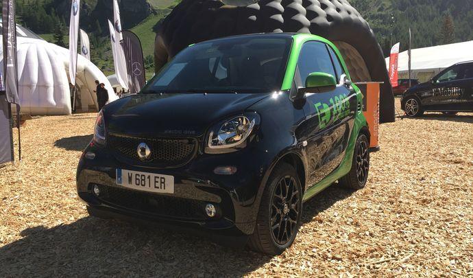 Smart Fortwo Electric Drive - Vidéo en direct du Salon de Val d'Isère 2017
