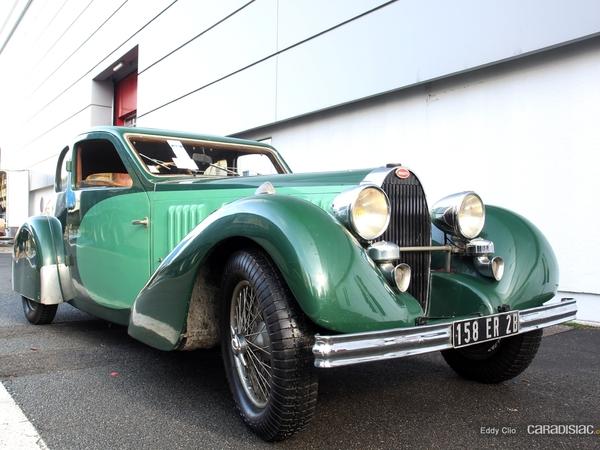 Photos du jour : Bugatti 57 Ventoux (Rétromobile)