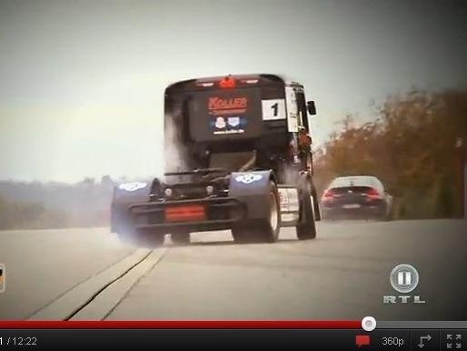GRIP - BMW M6 G-Power vs camion de course MAN de 1300 ch : qui l'emportera ?