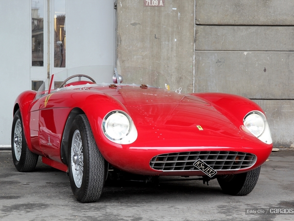 Photos du jour : Ferrari 500 Mondial Spider Pininfarina 1957 (Rétromobile)