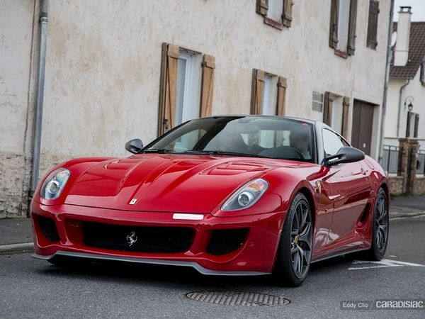 Photos du jour : Ferrari 599 GTO (Rétromobile)
