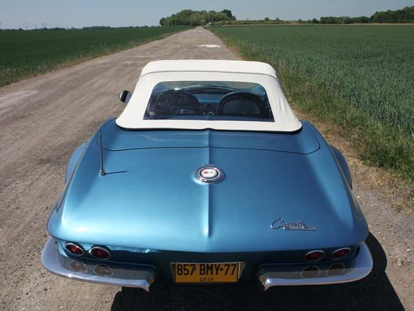 Essai vidéo rétro - Corvette Sting Ray '65 !