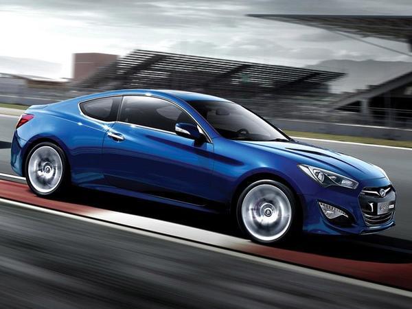 Nouveau Hyundai Genesis Coupé : avec un V6 3.8l de 350 ch ou un 4 cyl. 2.0l turbo de 275 ch