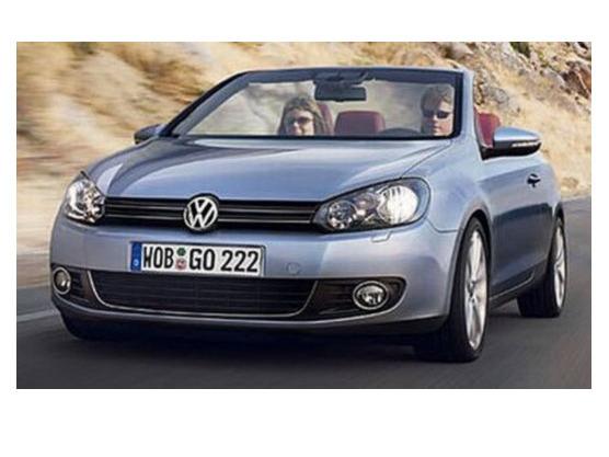 Volkswagen confirme la Golf Cabrio pour 2011