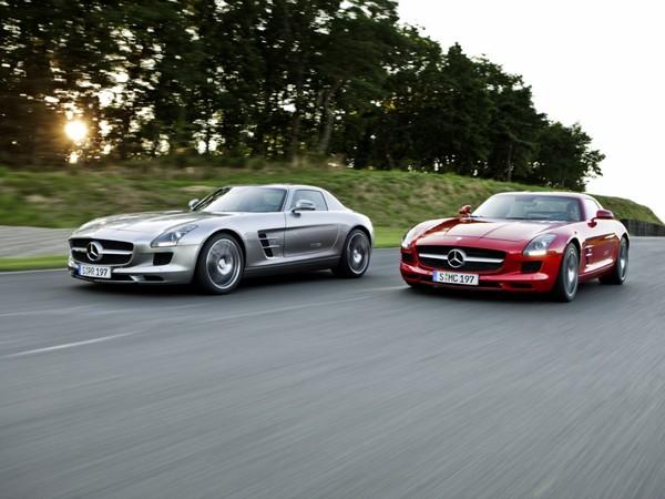 Mercedes SLS AMG: bientôt remplacée