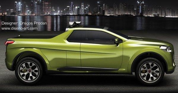 Fiat Sentiero par Dragos Prodan : mieux qu'un Volkswagen Amarok