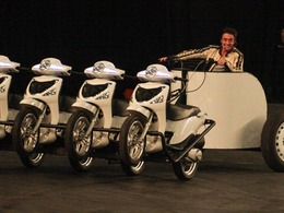 Top Gear fait le show en live au Royaume-Uni