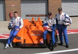 LMS - Nigel Mansell aux 1000 km de Silverstone sur la Ginetta-Zytek LNT