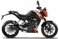 KTM: offres préférentielles sur la Duke 125 (2013)