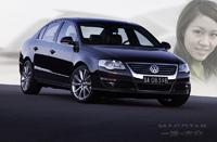 FAW-VW Magotan: une chinoise bien de 'chinous'.