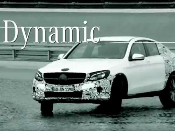 Salon de New York 2016 : le Mercedes GLC Coupé s'anime
