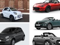 Que valent les cinq cabriolets les moins chers du marché ?