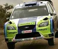 WRC Nouvelle Zélande Et.2: Le rouleau compresseur Ford