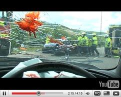 SMS au volant : la vidéo trash de la Sécurité Routière anglaise