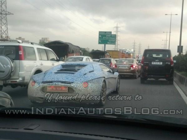 La 1ère sportive indienne, la DC Avanti, surprise