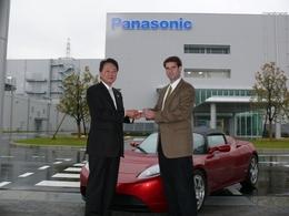 Véhicules électriques : Panasonic investit 30 millions de dollars dans Tesla Motors