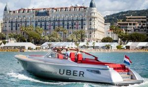 En Croatie Uber fait des vagues sur l'eau!