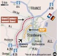 Contournement autoroutier de Strasbourg autorisé : Les Verts ne sont pas contents