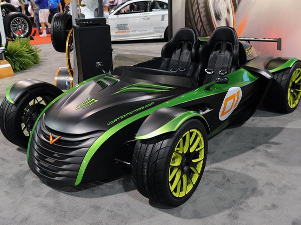 SEMA 2010 : Vortex F1, l'Atom US