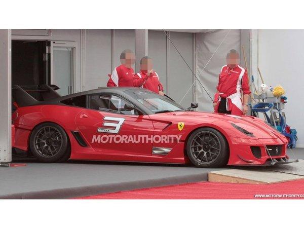 Surprise: la Ferrari 599 XX Evolution