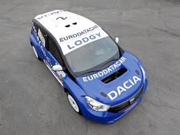 Surprise : le Dacia Lodgy, futur monospace de la marque, se révèle dans sa version Trophée Andros