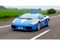 La vidéo du jour : Lamborghini Gallardo Polizia