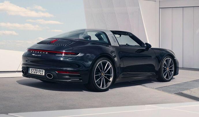 Porsche dévoile la nouvelle 911 Targa