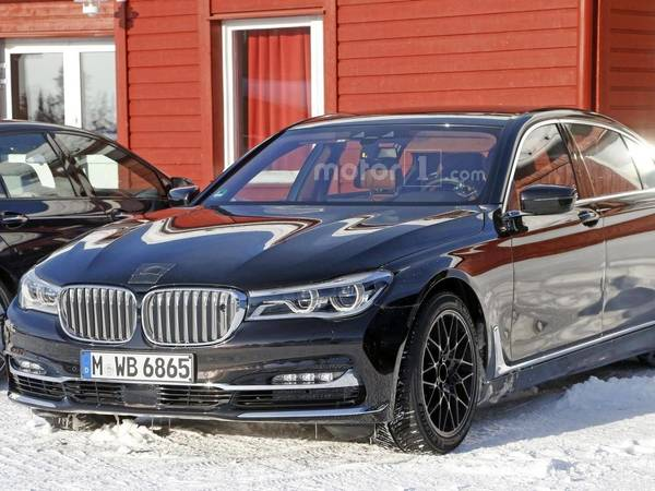 Surprise : est-ce là la future BMW M7 ?