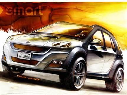 Smart: un SUV en 2016